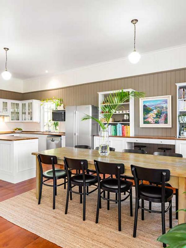 Kitchen and dining refresh